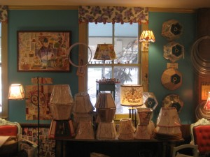a peek into Lake's Lampshades