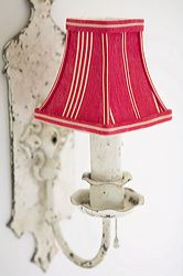 Vintage Ticking Lampshade