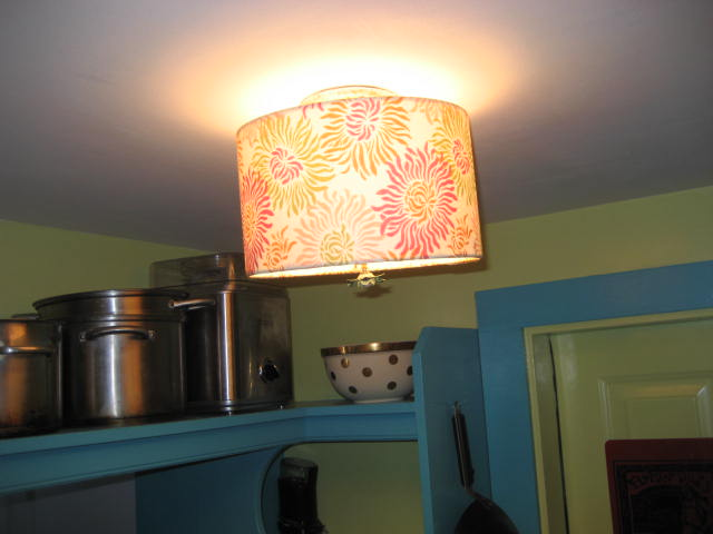 Judy S Painted Pantry With Ceiling Drum
