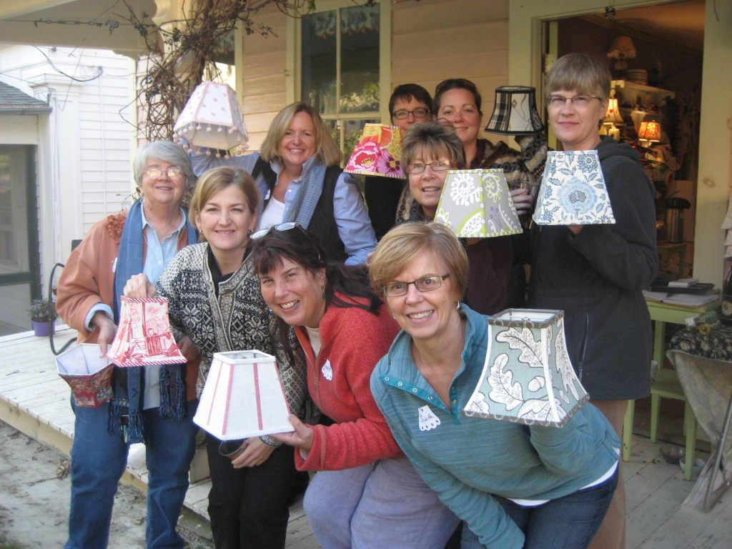 Learn Lampshade Making in One Day